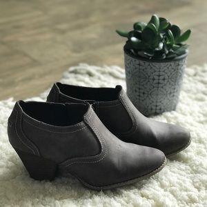 Cute brown booties size 9